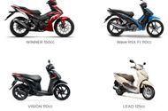 Tin tức - Bảng giá xe máy Honda tháng 12/2017: Có mẫu xe tăng đột biến 17 triều đồng