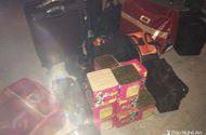 Tin tức - Người phụ nữ dùng xế hộp vận chuyển gần 2 tạ pháo trong đêm