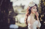 Tin tức - Chế Nguyễn Quỳnh Châu bất ngờ diện váy cưới lộng lẫy gợi cảm
