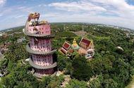 Đời sống - Thái Lan: Ngôi đền có rồng khổng lồ quấn quanh