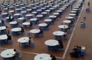 Tin tức - Tránh gian lận trong thi cử, cả thầy lẫn trò chuyển xuống nhà ăn làm bài thi