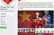 Tin tức - Trường cho học sinh nghỉ học phụ đạo để cổ vũ đội tuyển U23 Việt Nam