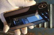 Tin tức - Cận cảnh chiếc iPhone X mạ vàng 18K của Bentley