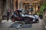 Tin tức - Chiêm ngưỡng xe 3 bánh phong cách người dơi giá 30.000 USD
