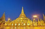 Toà tháp làm từ 72 tấn vàng và hàng nghìn carat kim cương
