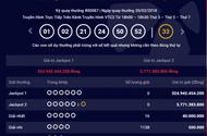 """Kết quả xổ số Vietlott hôm nay 22/2: Jackpot """"khủng"""" hơn 324 tỷ sẽ có chủ?"""
