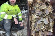 Công nhân vệ sinh vô tình nhặt được túi rác chứa 200 triệu đồng