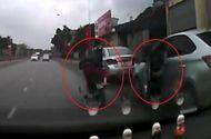 Tin trong nước - Video: Tài xế mở cửa xe hất văng người phụ nữ xuống đường