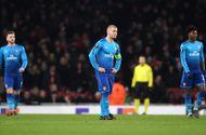 Kết quả Europa League: Arsenal thua muối mặt vẫn đi tiếp, Napoli cay đắng dừng bước