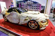 """Tin tức - """"Phát sốt"""" với loạt ôtô dát vàng của đại gia Trung Quốc"""