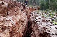 Nghệ An: Núi nứt, nhiều hộ dân phải di dời khẩn cấp