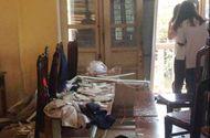 Tin trong nước - Hà Nội: Trần phòng học đổ sập, nhiều học sinh nhập viện
