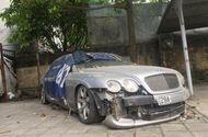"""Tin tức - Siêu xe Bentley """"vứt xó"""" ở Hà Nội khiến nhiều người tò mò"""