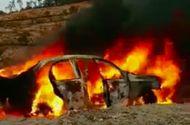 Tin tức - Ô tô bất ngờ bốc cháy ngùn ngụt trên đèo Đại Ninh, 5 người bỏng nặng