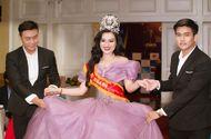Cần biết - Tân Nữ Hoàng Trần Huyền Nhung đấu giá từ thiện thành công trong đêm Gala tôn vinh.