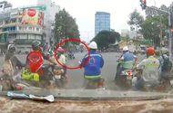 Tin tức - Clip: Tên cướp kéo lê cô gái hàng chục mét giữa ngã tư Sài Gòn
