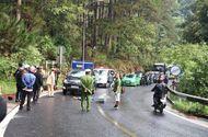 Tin tức - Tai nạn trên đèo Prenn: Xe máy đấu đầu ô tô, 2 người thương vong