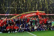 """Tin tức - """"Gã khổng lồ"""" Barcelona vô địch Cúp Nhà vua Tây Ban Nha"""