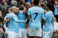 Tin tức - Đại thắng 5-0 trước Swansea, Man City thị uy sức mạnh nhà vô địch