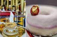Những món ăn chứa vàng phục vụ cho giới siêu giàu trong nhà hàng ở Dubai