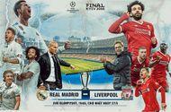 """Chung kết Champions League Real - Liverpool 1h45 ngày 27/5: Ai sẽ là """"vua""""?"""