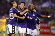 """Hà Nội FC nhận thưởng """"khủng"""" sau chiến thắng kịch tính tại Hàng Đẫy"""