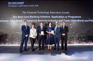 """Tài chính - Doanh nghiệp - VietinBank nhận """"cú đúp"""" giải thưởng uy tín từ The Asian Banker"""