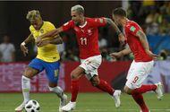 Tin tức - Brazil bị Thụy Sĩ cầm hòa ở trận ra quân World Cup