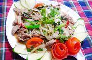 Tin tức - Đơn giản với thịt bê xào cần tỏi cho bữa trưa ngon cơm