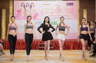 Tin tức - Thí sinh Hoa hậu Việt Nam khoe chân dài, eo thon trong hậu trường tập luyện