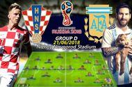 """""""Kèo thơm"""" World Cup 21/6: Argentina khó thắng Croatia"""
