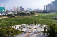 """Dự án công viên 300 tỷ """"ngủ quên"""" trên đất vàng Hà Nội"""