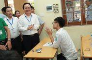 Tin tức - Bộ trưởng Phùng Xuân Nhạ xuống điểm thi động viên các thí sinh