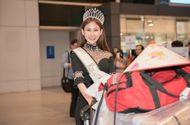 Tin tức - Hoa hậu Chi Nguyễn về nước sau khi đăng quang Miss Asia World 2018