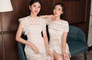 Tin tức - Hai người đẹp Mỹ Linh - Thanh Tú rực rỡ sắc hè với váy ren