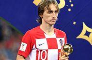 """""""Nhạc trưởng"""" Luka Modric giành danh hiệu quả bóng vàng World Cup 2018"""