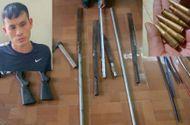 """Tin tức - Thanh Hóa: Bắt giữ đối tượng mang vũ khí tự chế, dẫn 20 """"đàn em"""" đi ẩu đả"""