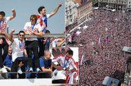 Thua trận, ĐT Croatia vẫn được chào đón như người hùng tại quê nhà