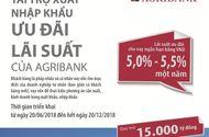 Agribank dành 15.000 tỷ đồng cho chương trình tài trợ xuất nhập khẩu ưu đãi  lãi suất đến khách hàng