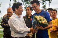Tin tức - Ông Park tạm để Văn Quyết thay Xuân Trường làm đội trưởng U23 Việt Nam