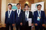 Tin tức - Đoàn Olympic Hóa học Việt Nam dành 4 huy chương quốc tế