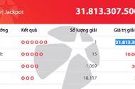 Tin tức - Kết quả xổ số Vietlott: Lộ diện chủ nhân giải Jackpot trị giá hơn 31 tỷ đồng