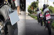 Tin tức - Clip: Xe máy không đeo biển số ra đường bị phạt như thế nào?