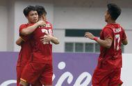 Olympic Việt Nam 3 - 0 Olympic Pakistan: Chiến thắng 3 sao, chiếm ngôi đầu bảng