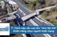 Tin tức - Video: Cảnh cây cầu sập trong chớp mắt khiến hàng chục người thiệt mạng