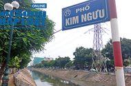 """Tin tức - Hà Nội: 1km có tới 7 ống xả thải, sông Kim Ngưu khó """"hồi sinh"""""""