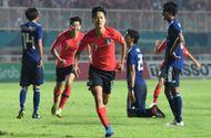 Tin tức - Sau 120 phút thi đấu, Olympic Hàn Quốc bảo vệ thành công tấm HCV Asiad