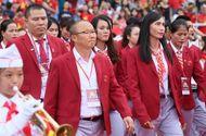 Tin tức - Toàn cảnh lễ vinh danh Đoàn thể thao Việt Nam vừa trở về từ ASIAD 2018