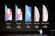"""Bảng giá bộ 3 iPhone Xs, Xs Max và Xr vừa trình làng: Mẫu """"sang chảnh"""" nhất 1.449 USD"""