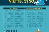 Lịch chuyển đổi SIM 11 số thành 10 số của 5 nhà mạng, 0h ngày 15/9 chính thức bắt đầu